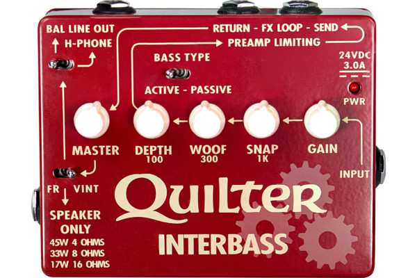 Quilter Labs Introduces the InterBass Pedal