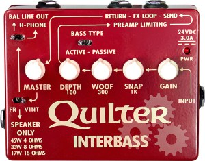 Quilter Labs InterBass Pedal