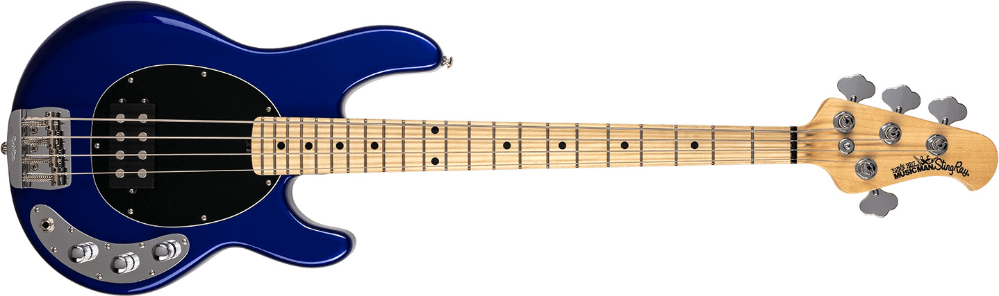 Ernie Ball Music Man Short Scale StingRay Bass Blue