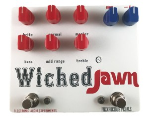 Fuzzrocious Pedals Wicked Jawn Pedal