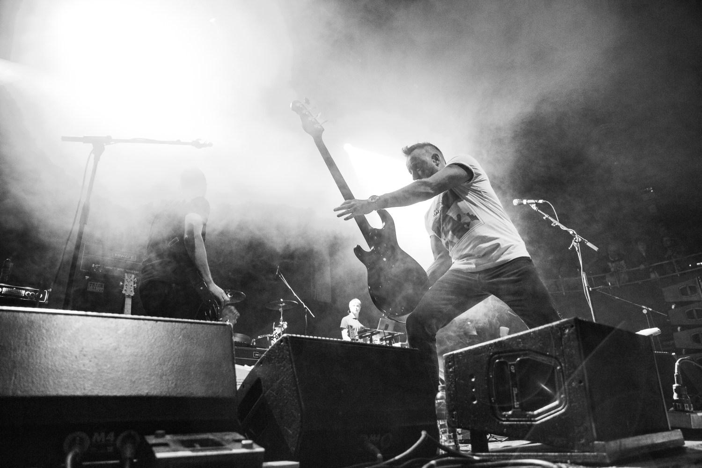Peter Hook Performing at Albert Hall