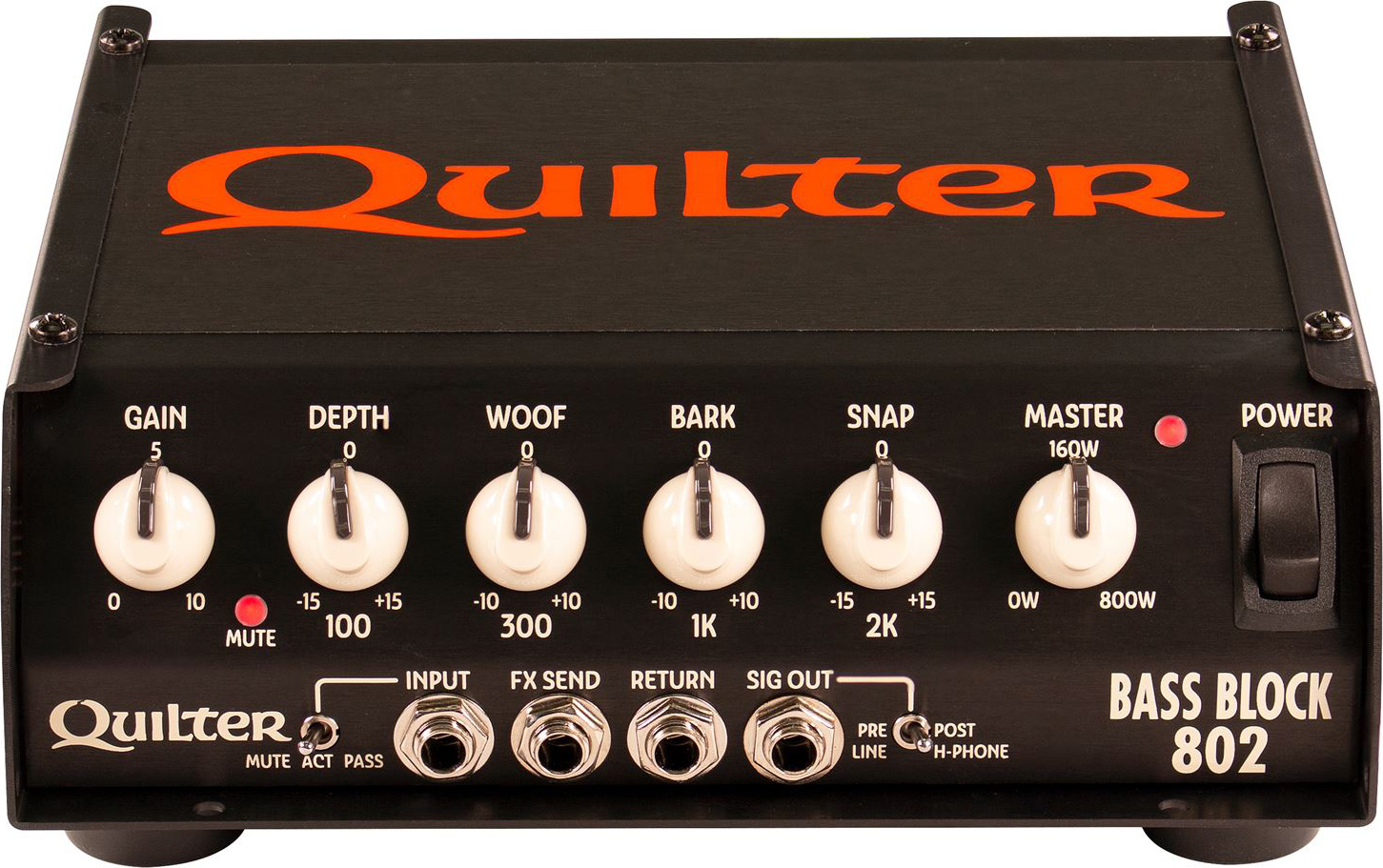 Quilter Bass Block 802 Amp