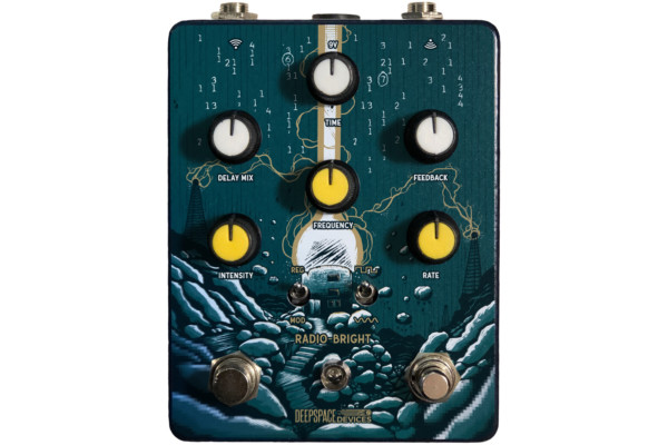 Deep Space Devices Introduces the Radio Bright Ring Mod Delay Pedal