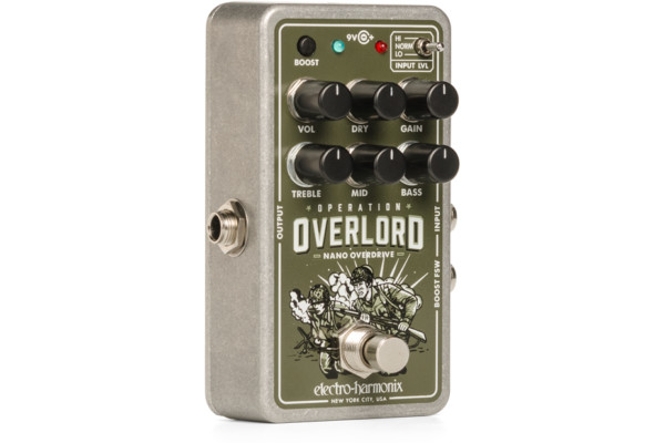 Electro-Harmonix Introduces the Nano Operation Overlord Pedal
