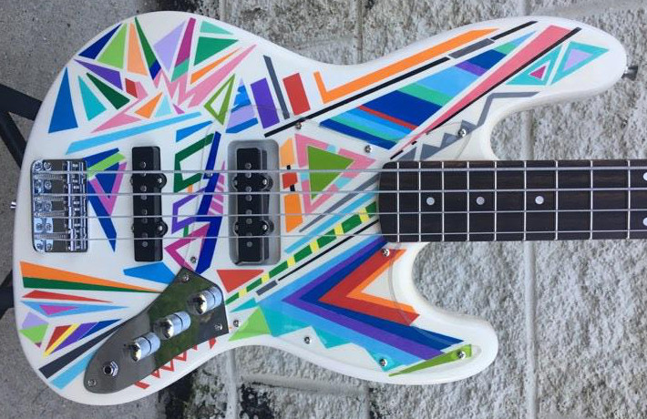 "Bass of the Week: Gamma Bass Guitars ""Starburst"""