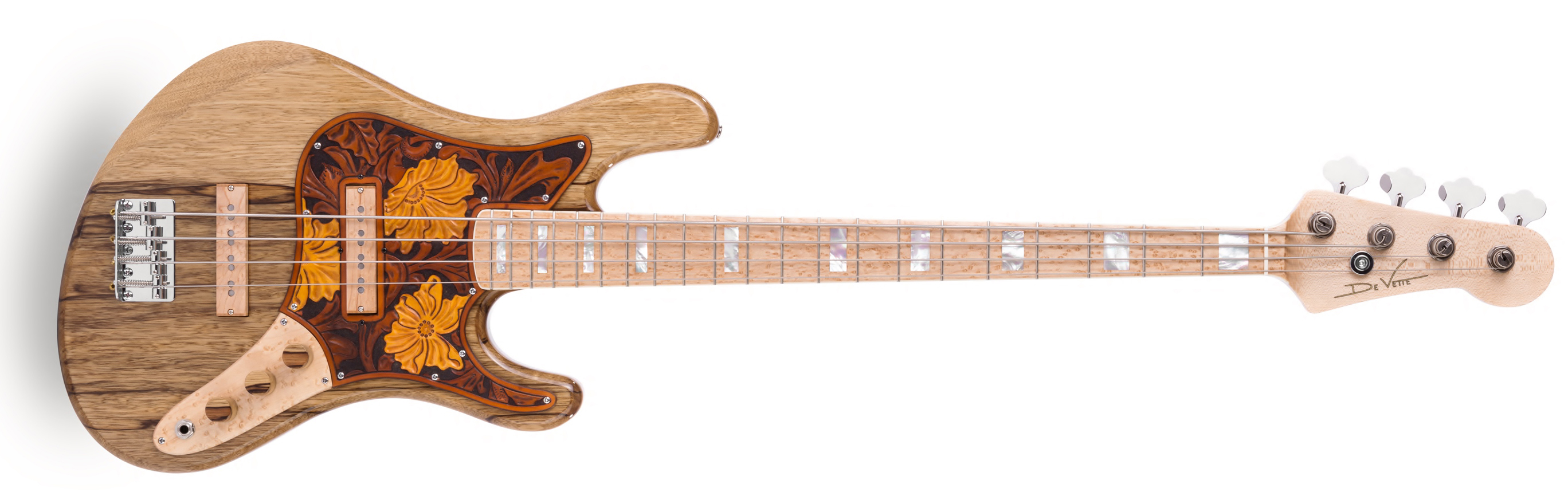 Frederiek de Vette Vintage-Style Bass