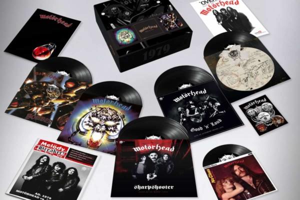 """Motörhead """"1979"""" Box Set Now Available"""