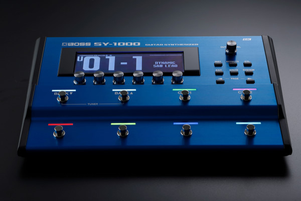 Boss Announces the SY-1000 Guitar/Bass Synthesizer