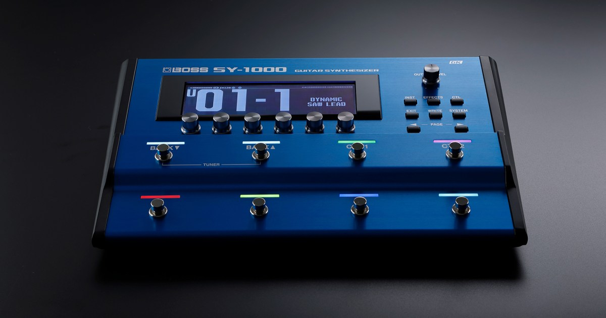 Boss SY-1000 Guitar/Bass Synthesizer