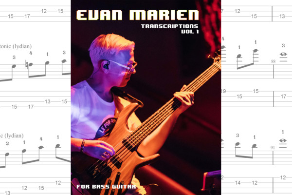 Evan Marien Publishes Transcription Book