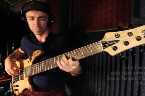 "John Ferrara: Solo Bass Arrangement of ""Plush"""
