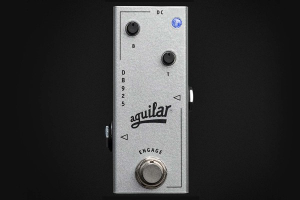 Aguilar Amplification Introduces the DB 925 Bass Preamp Pedal