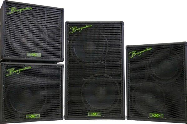 Bergantino Audio Unveils the NXT Bass Cabinet Series