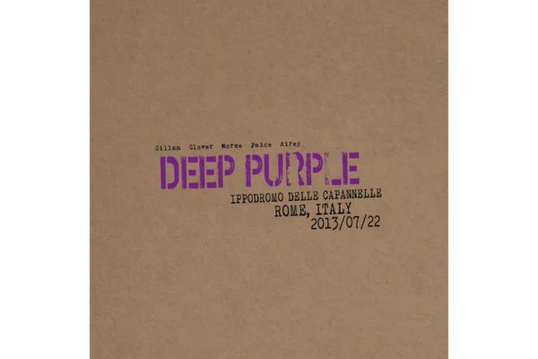"Deep Purple Releases ""Live in Rome 2013"""