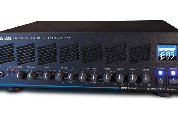 EBS Unveils the 802 Bass Amp