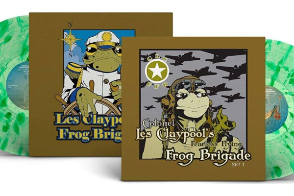 "Les Claypool's Fearless Flying Frog Brigade's ""Live Frogs"" Reissued on Vinyl"