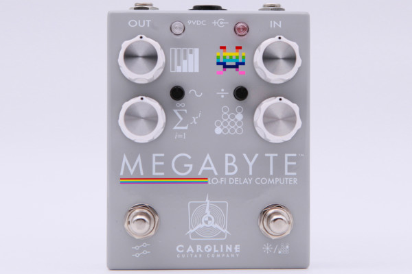 Caroline Guitar Company Releases the Megabyte Delay Pedal