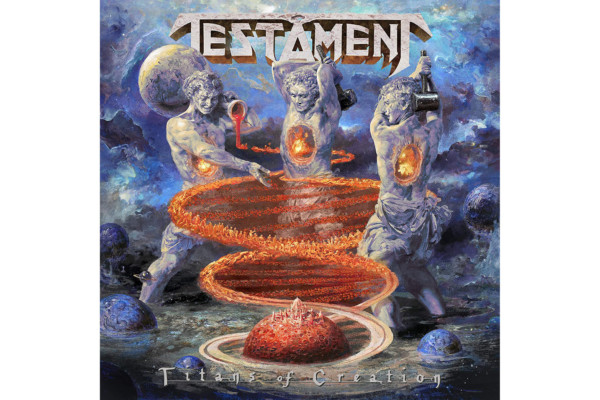 "Testament Releases ""Titans of Creation"""