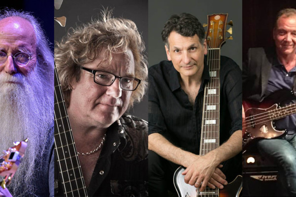 BassCon Online to Feature Leland Sklar, Stuart Hamm, John Patitucci, and Guy Pratt