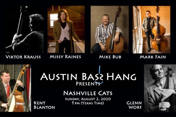 "Austin Bass Hang Presents ""Nashville Cats"" Webinar"
