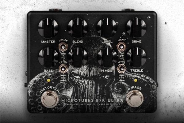 "Darkglass Electronics Unveils Limited Edition Microtubes B7K Ultra V2 Pedal, ""The Squid"""