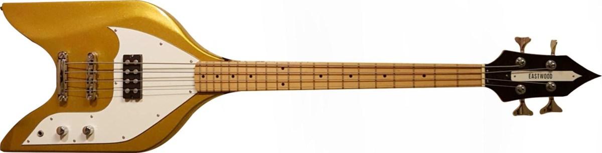 Eastwood Rocket Bass Gold