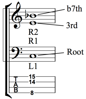 Developing Simultaneous Chordal and Bass Line Accompaniment - Fig 1j