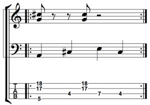 Rhythmic Displacement: Figure 3