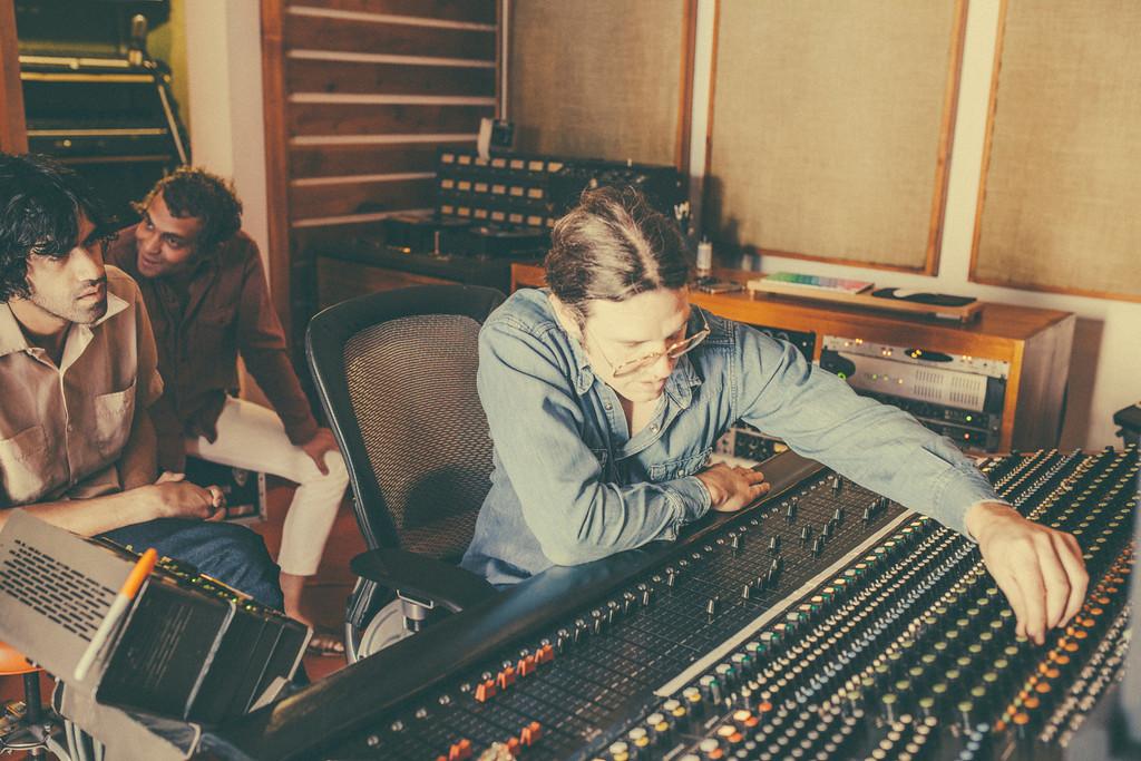 Dan Horne in Studio