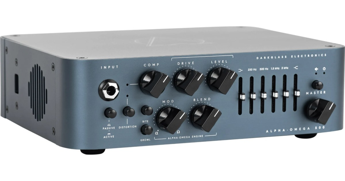 Darkglass Electronics Unveils Two New Bass Amps