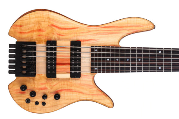 Fodera Introduces New Tony Grey Signature Monarch 6 Elite Headless Bass
