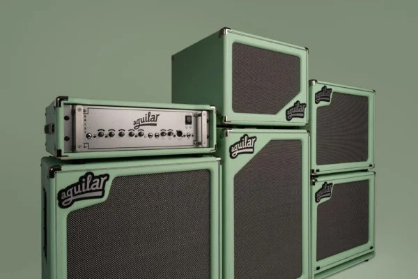 Aguilar Amplification Reveals Poseidon Green Special Edition SL Cabinets