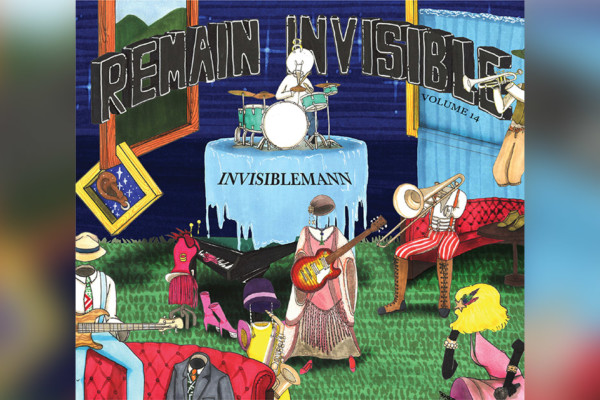 "Kenny James Releases New ""Invisiblemann"" Album with Bass Giveaway"