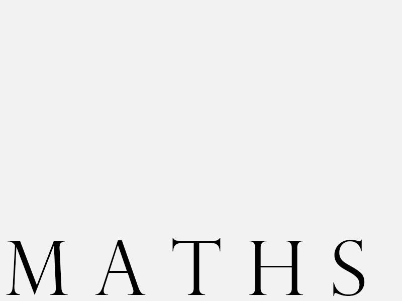 dep maths