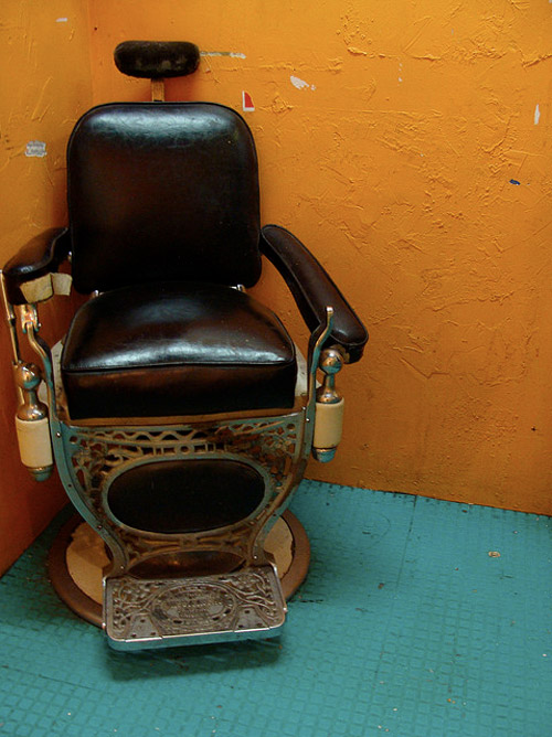 fauteuil atypique avion barbier train