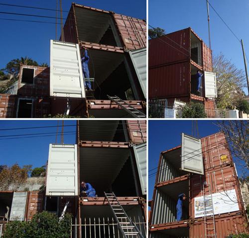 Maison container lyon un container dguis en cabane pour for Container maison lyon