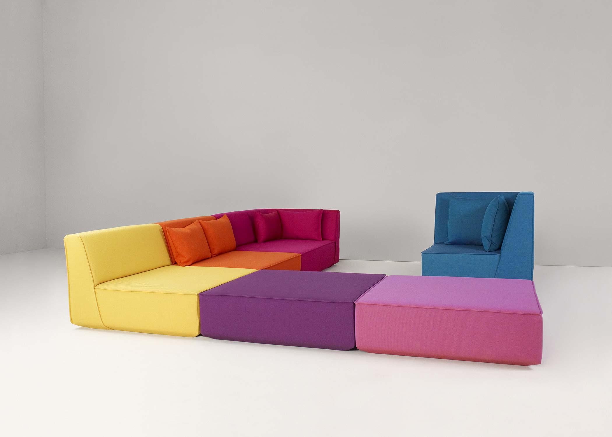 vitra sofa modular contemporary sectional sofas nyc canapé modulable multicolore