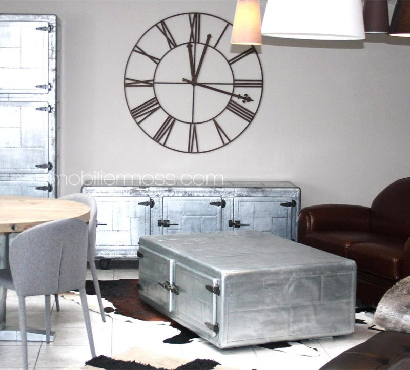 Great Perfect Table Basse En Zinc With Plaque De Zinc Pour