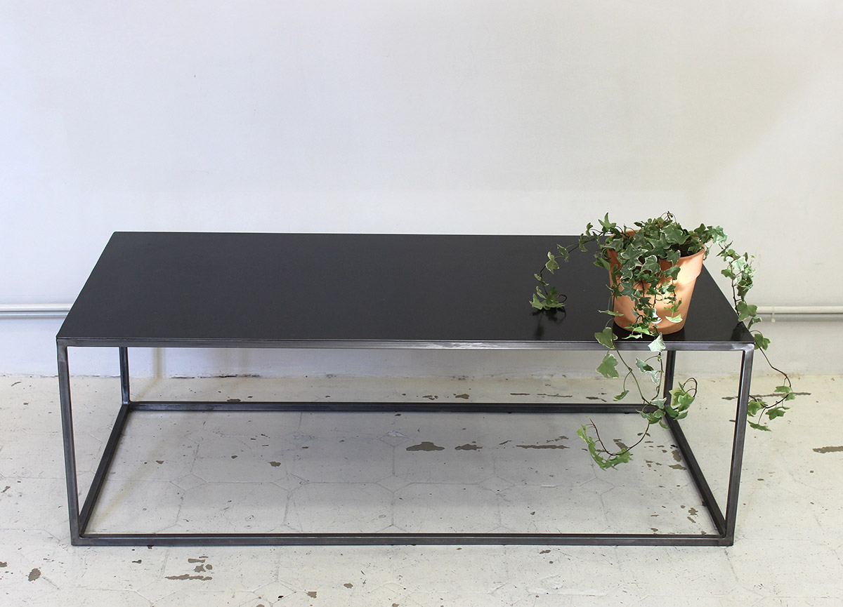 Table Basse Sur Mesure En Metal Atelier