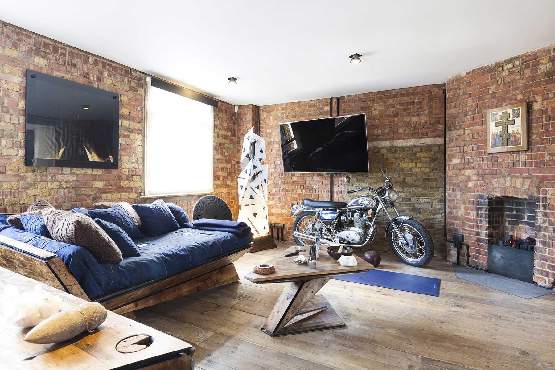 Archer Street loft  Londres par Michaelis Boyd