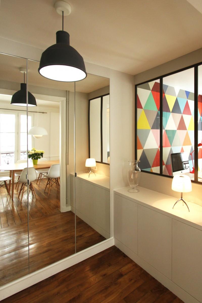 Rnovation dun appartement haussmannien par Camille Hermand