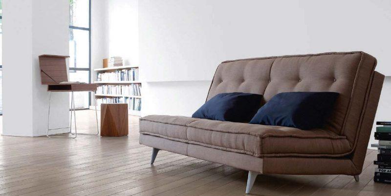 sofa bed futon style microfiber chocolate reversible chaise sectional 28 idées de canapé convertible