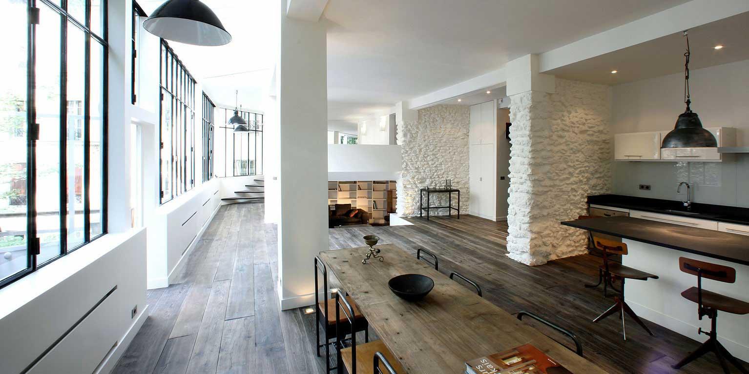 Loft  Montmartre par 2design