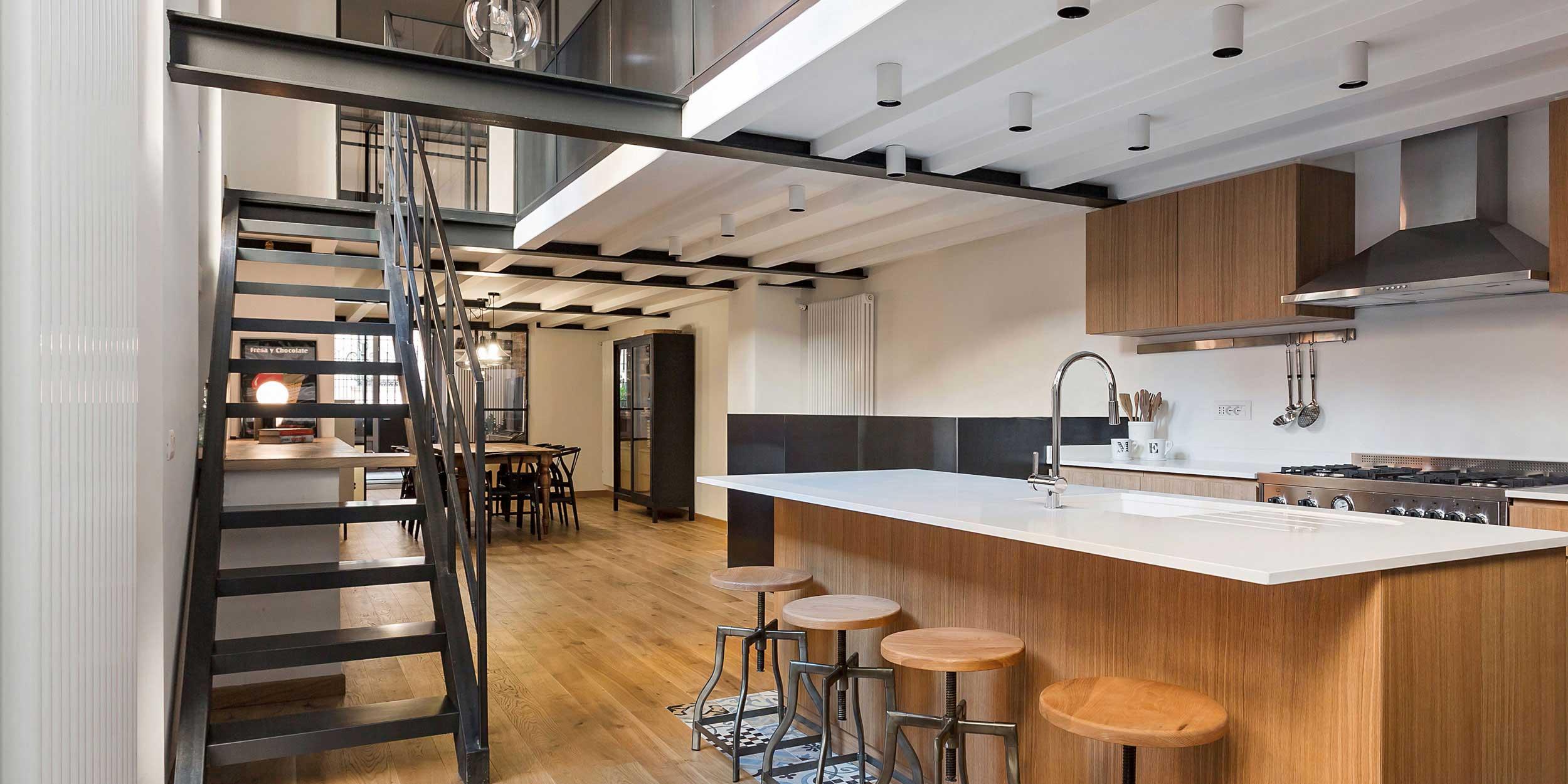 Loft N par Nomade Architettura