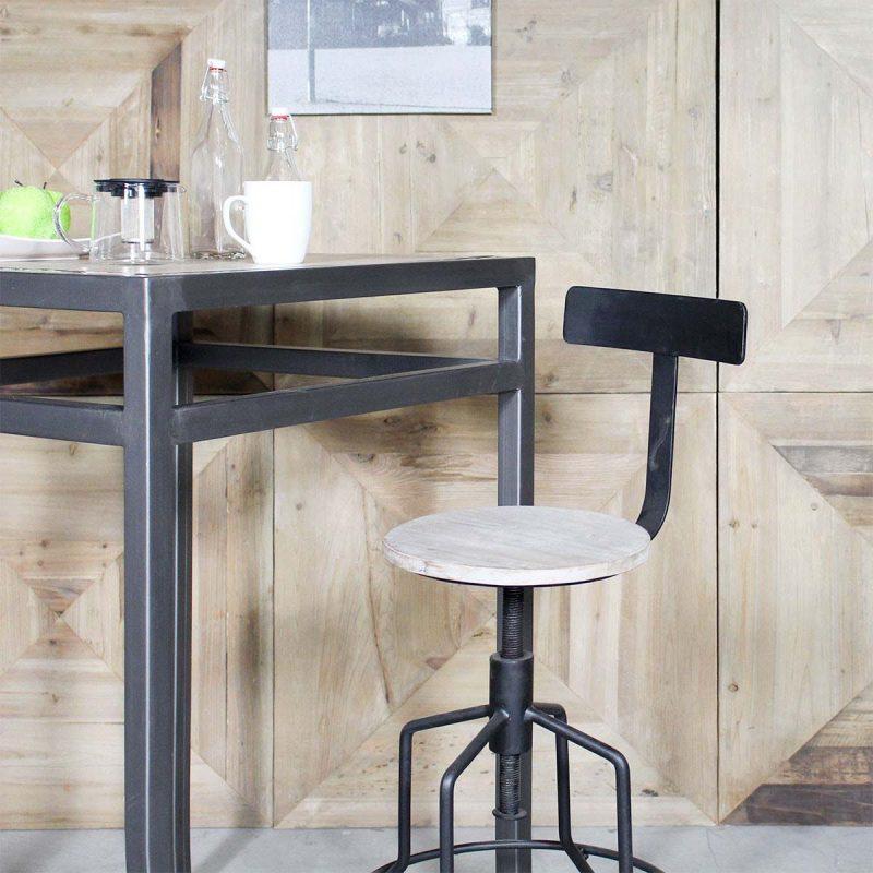 Tabouret De Bar Industriel 27 Idées Déco Pour La Cuisine