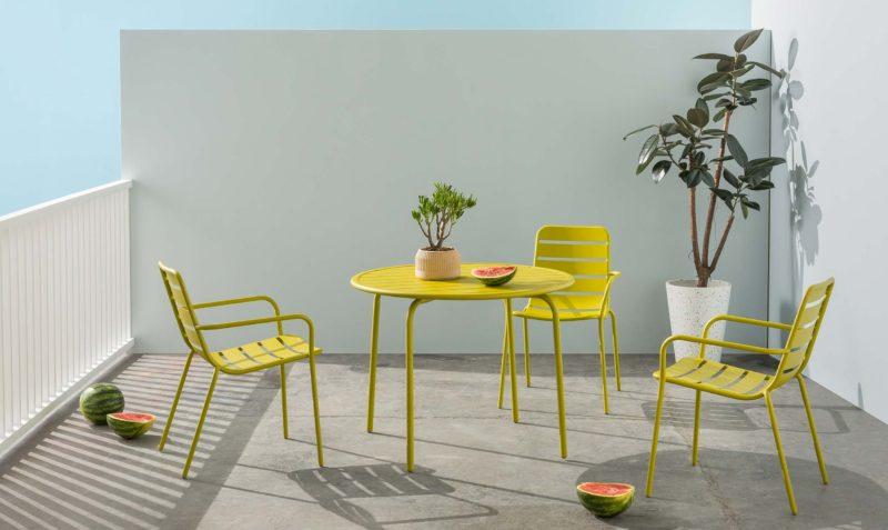 mobilier de salon de jardin
