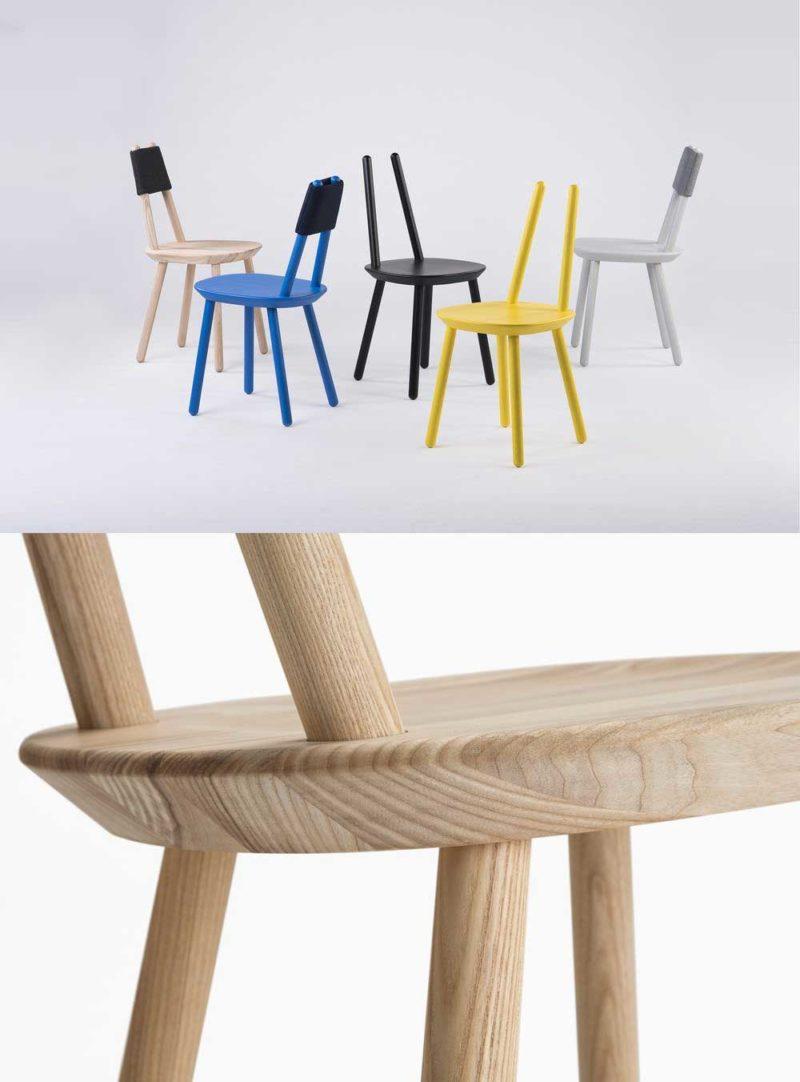 chaise originale 27 assises au design