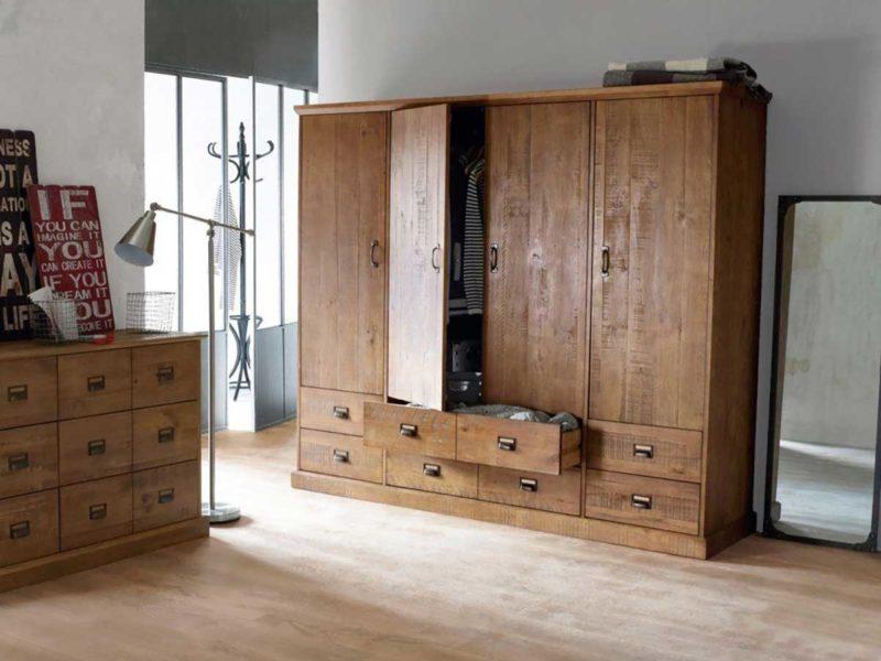 armoire industrielle 19 meubles style