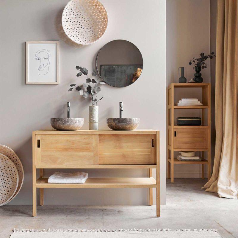 17 meubles en bois massif pour la salle