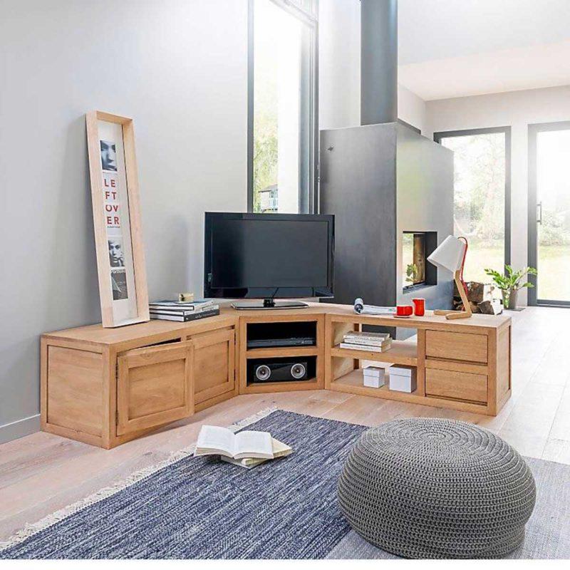 meuble tv d angle 12 modeles